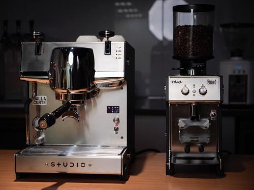 單孔義式咖啡機-Dalla Corte Studio開箱-小而彌堅