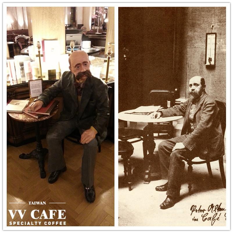 維也納中央咖啡廳Peter Altenberg