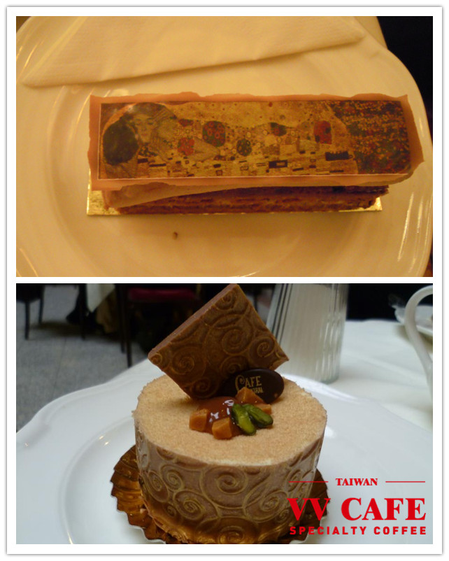 中央咖啡館克林姆蛋糕