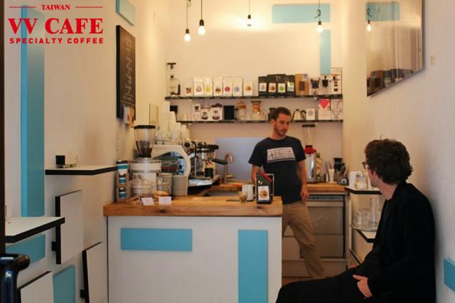 維也納咖啡館KAFFEEMODUL店內