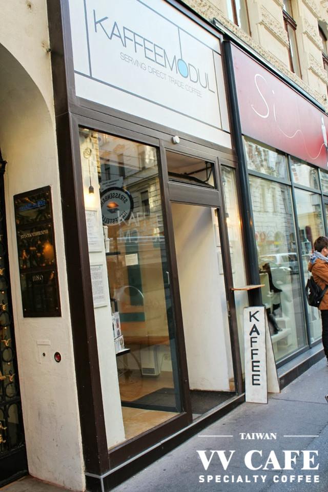 維也納咖啡館KAFFEEMODUL店門