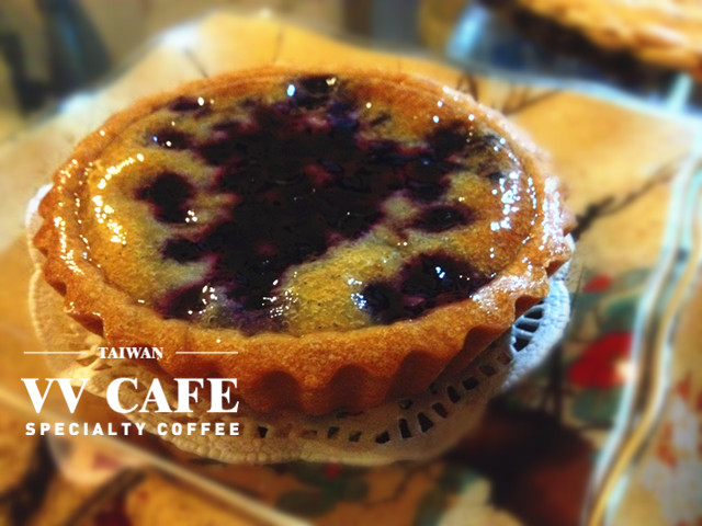 內湖咖啡館藍莓派