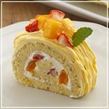 芒果椰香蛋糕卷