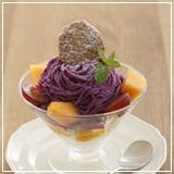 紫薯蒙布朗聖代