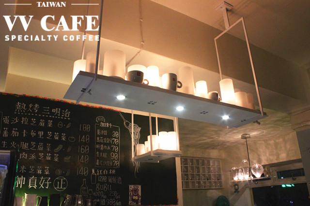 敦化國中操場後面那家illy咖啡館-吊燈