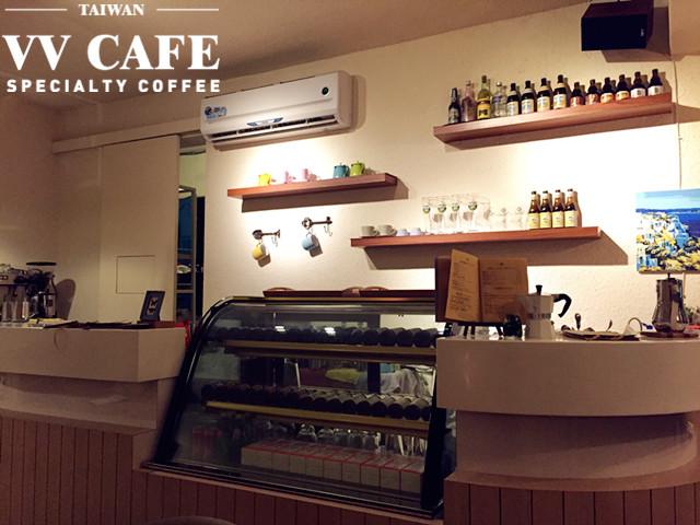 北海岸景點咖啡館:彼瑞佳咖啡可愛吧台