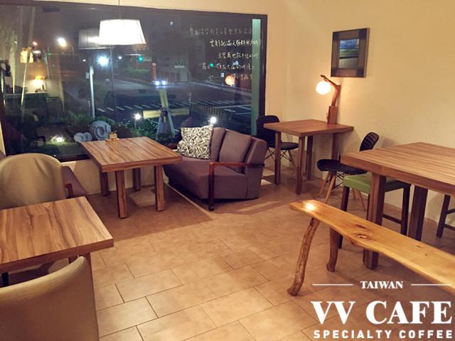 北海岸景點咖啡館:彼瑞佳咖啡座位區