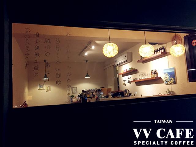 北海岸景點咖啡館:彼瑞佳咖啡吧台外看