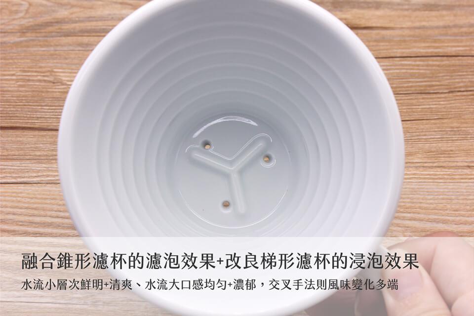 Kalita陶瓷波浪濾杯-06